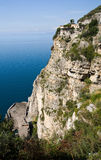 Gulf of Naples Cliffs Royalty Free Stock Image