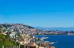 The gulf of Naples, Italy. Stock Photos