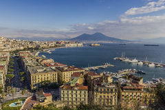 Gulf of Naples Stock Photo