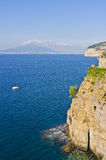 Gulf of Naples, Sant'Agnello Italy Royalty Free Stock Photography