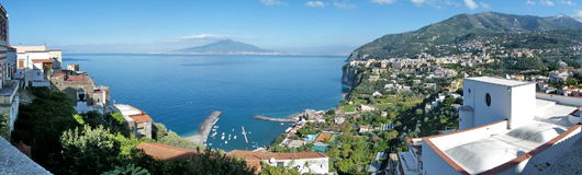 Gulf of Neaples & Vesuvius stock photos