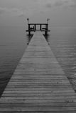 Gulf pier Stock Photo