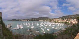 Gulf of the poets Golfo dei Poeti - Province of La Spezia - Lerici - Italy royalty free stock image