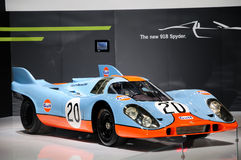 Gulf Porsche 917K racing car Royalty Free Stock Image