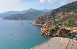 Gulf of Porto (Corsica) Royalty Free Stock Images