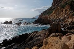Gulf of Porto, Corsica stock photos