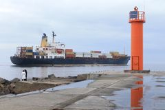 Gulf of Riga, Riga, Latvia Stock Images