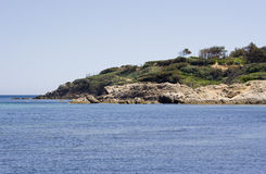 Gulf of saint-tropez Royalty Free Stock Images