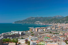 The gulf of Salerno Stock Photography