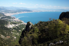 Gulf of salerno Royalty Free Stock Photo