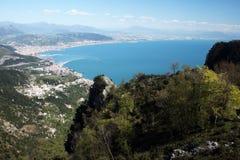 Gulf of salerno Royalty Free Stock Photo