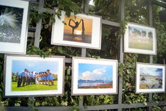 The gulf of shenzhen photography exhibition, in china Stock Photography