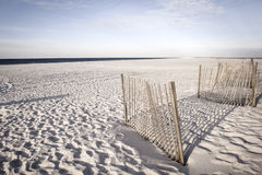 Gulf Shores. White sand dunes of Alabama Gulf Shores stock images