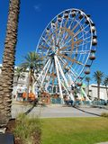 Gulf Shores fairs wheel Royalty Free Stock Image