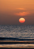 Gulf Sunset Stock Image