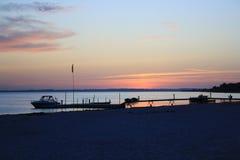 Gulf sunset Stock Photos