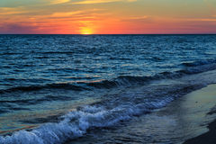 Gulf Sunset Royalty Free Stock Photography
