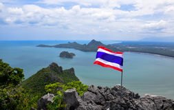 Gulf of Thailand Royalty Free Stock Photography