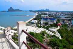 Gulf of Thailand Stock Photo