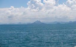 Gulf of Thailand. Go to Samui Stock Image