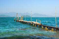 Gulf of Thailand Scenery Stock Image