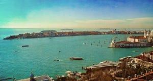Beautiful water street - Gulf of Venice, Italy Royalty Free Stock Photos