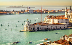 Beautiful water street - Gulf of Venice, Italy Stock Photos