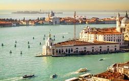 Beautiful water street - Gulf of Venice, Italy Stock Photos