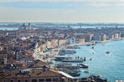 Beautiful water street - Gulf of Venice, Italy Royalty Free Stock Images
