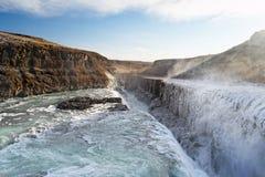 gulfoss Ισλανδία Στοκ φωτογραφία με δικαίωμα ελεύθερης χρήσης