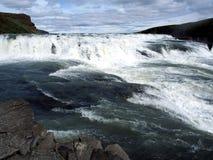 Gulfoss - Исландия Стоковая Фотография