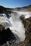 Gulfoss. Waterfall in Iceland Stock Photography