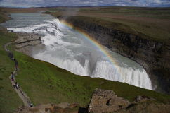 Gulfoss, Iceland Royalty Free Stock Photos