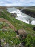Gulfoss - Iceland. Beautiful waterfall Gulfoss in Iceland Royalty Free Stock Photos