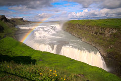 Gulfoss, Iceland Stock Photography