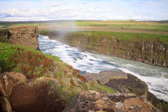 Gulfoss, Iceland Stock Image