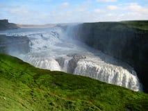 Gulfoss waterfall (Iceland) Royalty Free Stock Photo