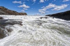 Free Gulfoss Waterfall In Iceland Stock Photos - 41334813