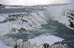 Iceland`s landscape in winter Stock Photography