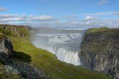 Gulfoss waterfall Royalty Free Stock Image