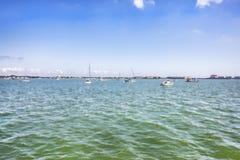 Gulfport, гавань Флориды стоковое изображение rf