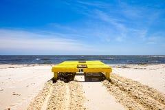 Gulfport海滩 库存照片