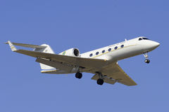 Gulfstream. Aerospace Tp102C  IV (G-IV-SP) landing at Prague airport Stock Images