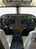 Gulfstream Cockpit Stockfotos