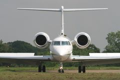 Gulfstream executive jet royalty free stock photography