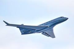 Gulfstream G650 aerospaziale Fotografia Stock