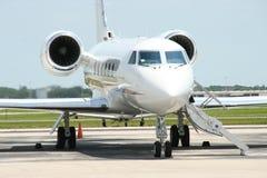 Gulfstream IV privater Strahl stockfotos