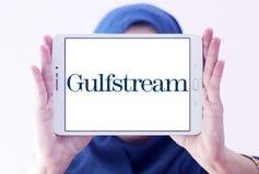 Gulfstream Kosmiczny Korporacja logo Obrazy Royalty Free