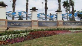 Gulfstream Park que compite con, casino Imagen de archivo libre de regalías