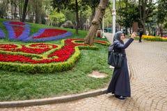 Gulhane公园在伊斯坦布尔,土耳其 免版税库存照片